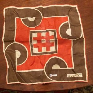 Vintage Givenchy Scarf